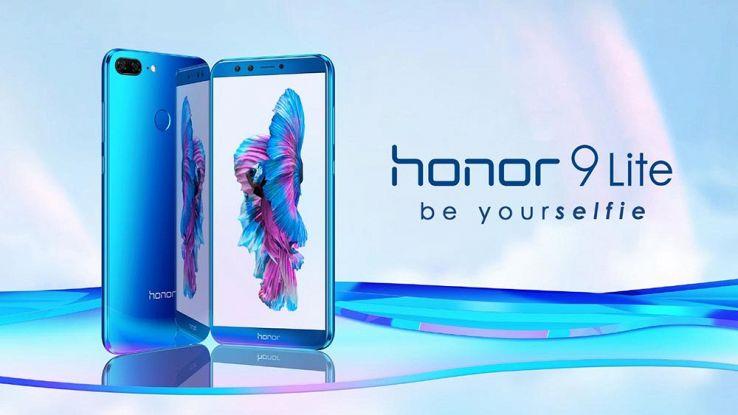 Honor 9 Lite ufficiale, smartphone di fascia media con 4 fotocamere