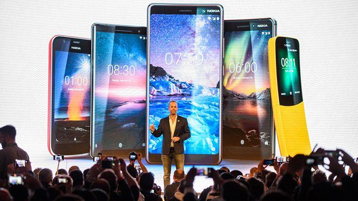 Gli smartphone Nokia presentati a Barcellona