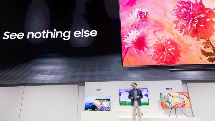 Da Samsung Tv QLED, bello come un quadro