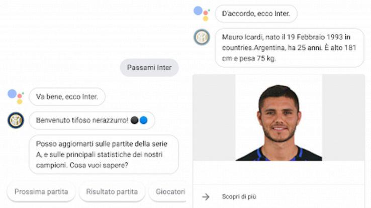 Google Assistant dà voce a app italiane