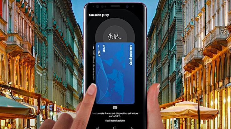 Samsung Pay debutta in Italia