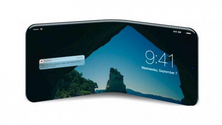 Tutto quello che sappiamo sull'iPhone pieghevole in arrivo nel 2020