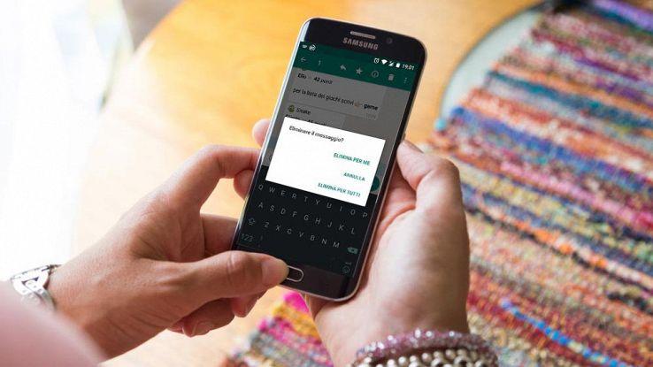 WhatsApp su telefono Android