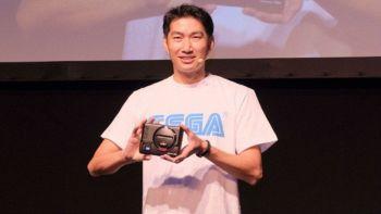 Il Sega Mega Drive Mini presentato sul palco del Sega Fest in Giappone