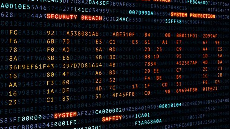 Sito web hackerato