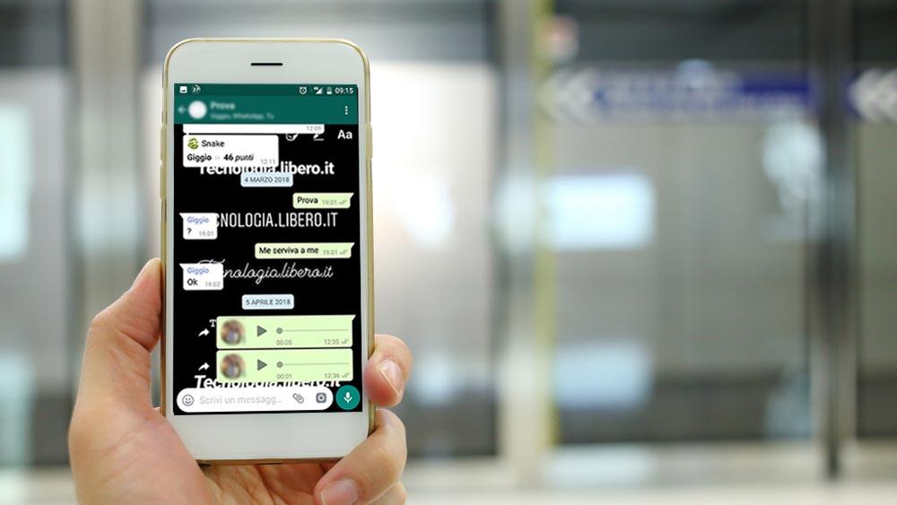 Sfondi chat whatsapp iphone 6