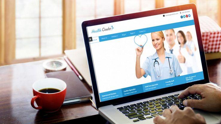 Sito internet per medici