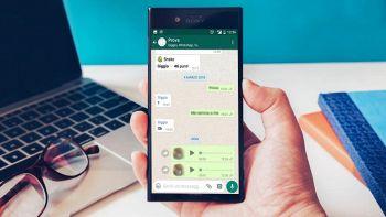 Come registrare note audio su WhatsApp senza tenere il tasto premuto