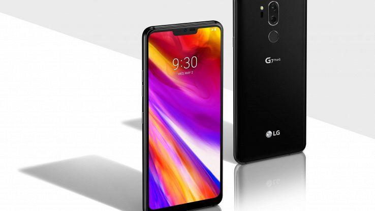 Ecco LG G7 ThinQ, punta su luce e suono