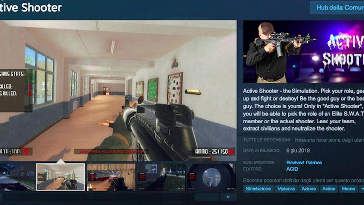 VG simula sparatoria a scuola,è polemica