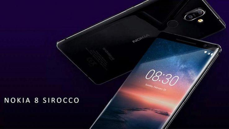 Nokia 8 Sirocco, top di gamma in Italia