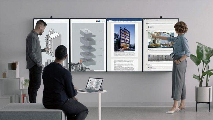Microsoft svela il Surface Hub 2
