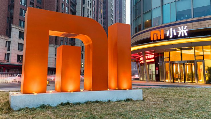 L'ingresso del negozio Xiaomi in Cina