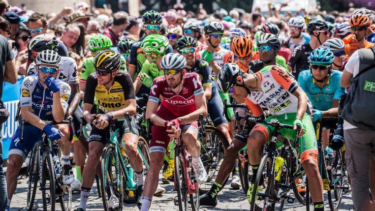 Giro d'italia al via