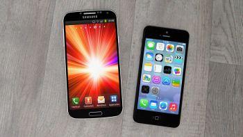 Samsung Galaxy S e Apple iPhone
