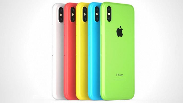 iPHone X 2018 a color