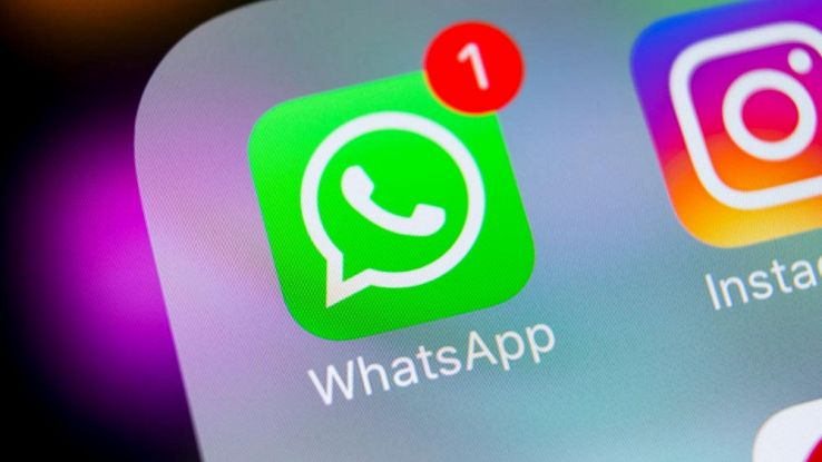 Il simbolo di una Notifica WhatsApp