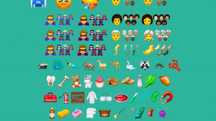 Riccio, roscio o calvo, ecco nuove emoji