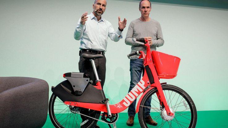 Uber porta bici elettriche a Berlino