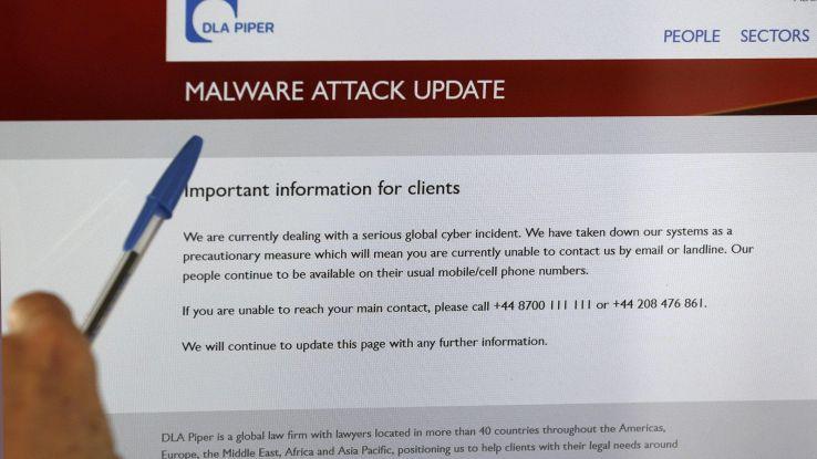 Nuovo virus malevolo attacca Italia