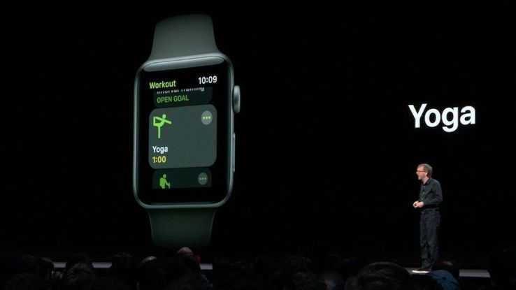 Su Apple Watch arrivano yoga e trekking