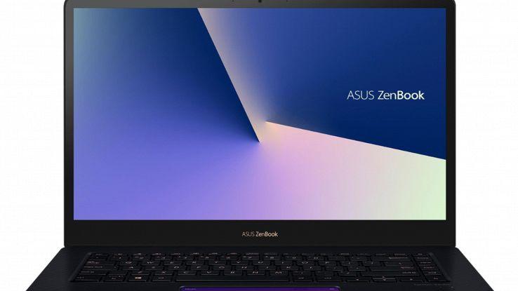 Asus, un display al posto del touchpad