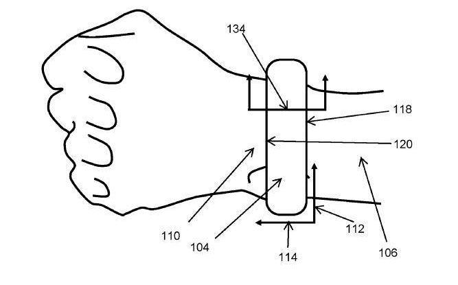 Apple brevetta sfigmomanometro da polso