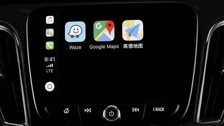Waze e Google Maps su CarPlay