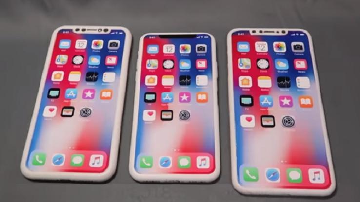 I tre nuovi modelli di iPhone X 2018