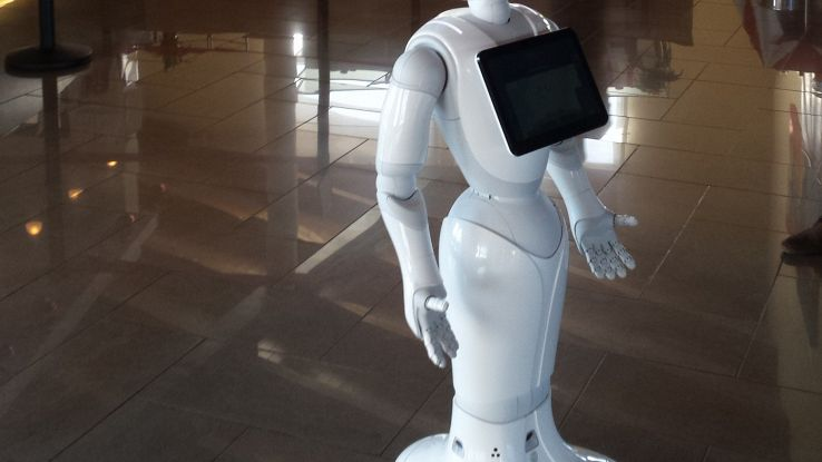Pepper, primo robot concierge in Italia