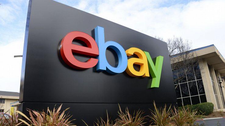 Ebay: taglia stime ricavi 2018
