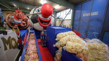 Popcorn fanno funzionare motore robot