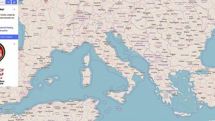 A Milano raduno Wikipedia delle mappe