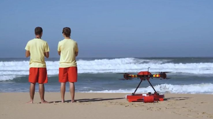 Addio Baywatch, arriva il drone bagnino