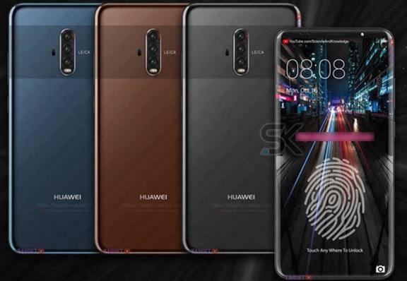 Una foto dei nuovi smartphone Huawei Mate 20