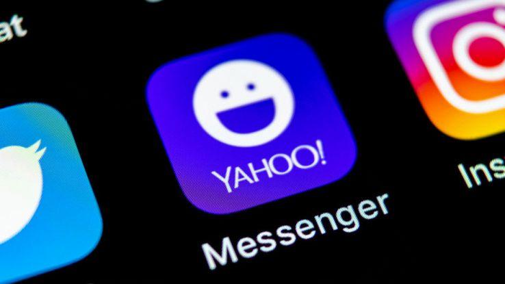 L'icona dell'app Yahoo Messenger