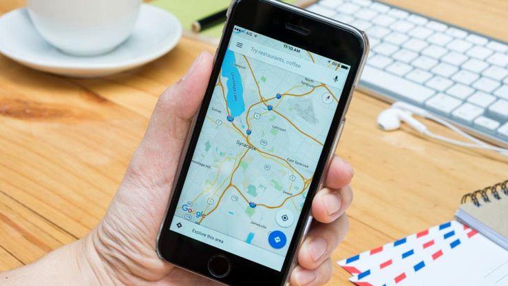 Google Maps su iPhone