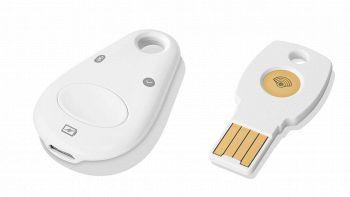 Le due versioni della Titan Key di Google