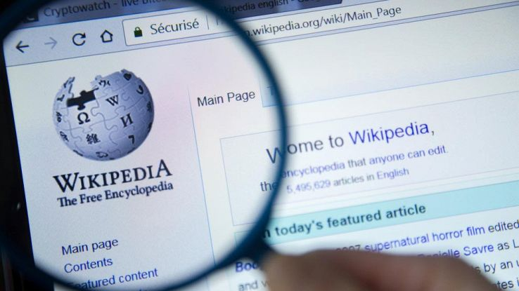 home page Wikipedia
