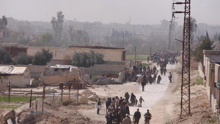 Siria, app per anticipare bombardamenti