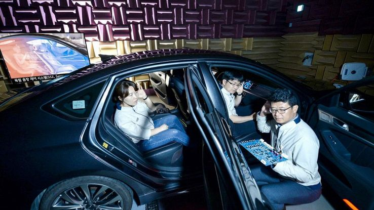 Hyundai inventa la Separated Sound Zone