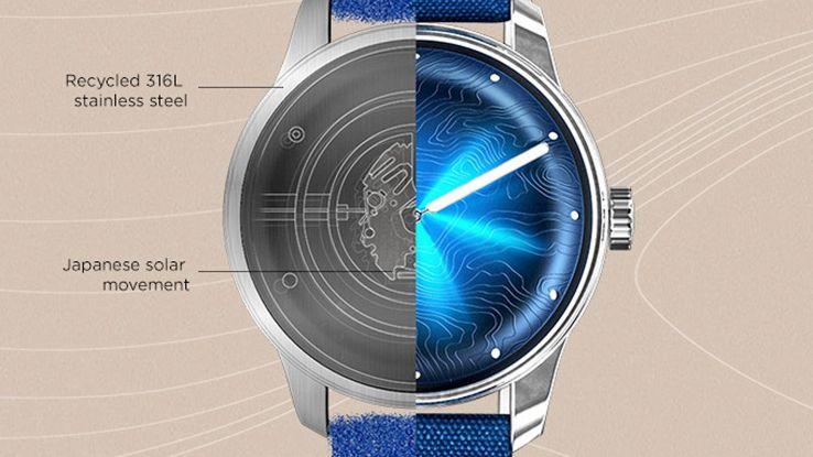 Ecco l'orologio eco, a energia solare