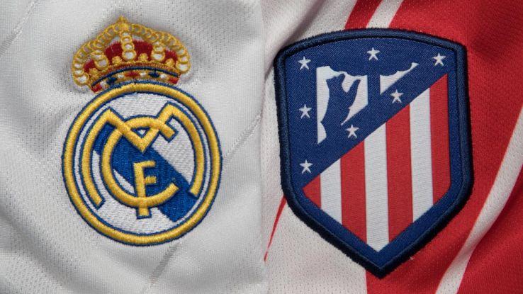 magliette del real madrid e dell'atletico madrid