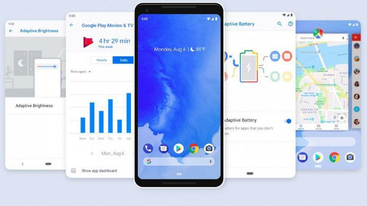 Android Pie,stop a dipendenza smartphone