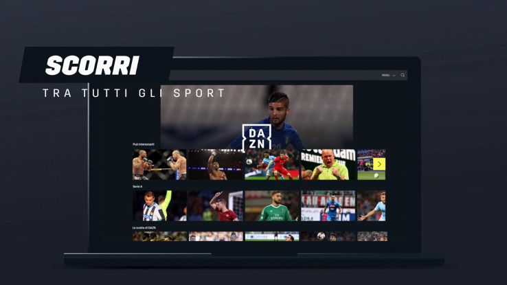 DAZN piattaforma on demand serie a