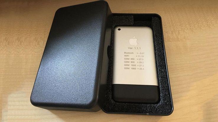 il primo prototipo di iphone