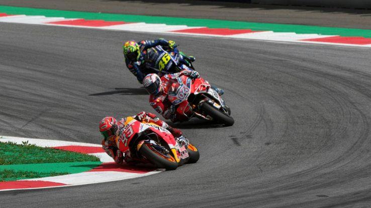 Come vedere in diretta streaming il GP d'Austria 2018 di MotoGP