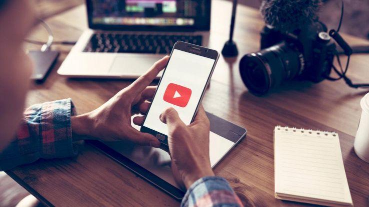 youtube sull'app per smartphone