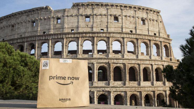 Amazon, a Roma porta il pecorino a casa