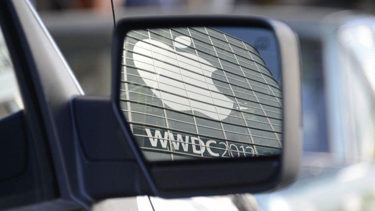 Primo incidente per una Apple Car